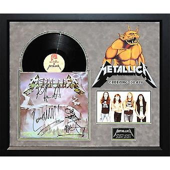 Metallica - Creeping Death - Signed Album