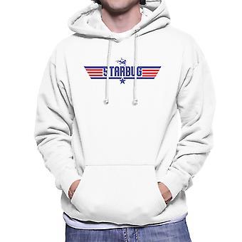 Top Gun Logo Starbug Red Dwarf Men's Hooded Sweatshirt