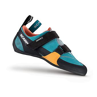 Scarpa Force V Womens Shoes Icefall/Mandarin Red