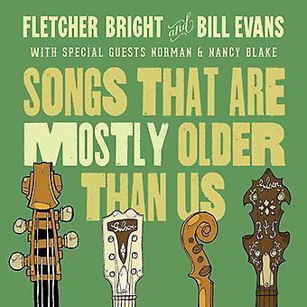 Evans, Bill / Bright, Fletcher - sange, er for det meste ældre end os [CD] USA import