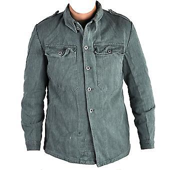 f652b77e Opprinnelige ny oliven tsjekkiske militære Army jakke 219 kr · Sveitsiske  militære utstedt Denim arbeid skjorte / jakke