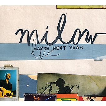 Milow - Maybe Next Year (Live) [CD] USA import