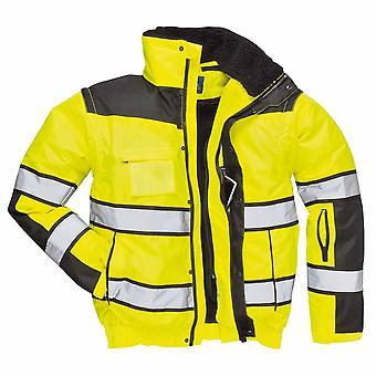Portwest - HI-Vis Safety Workwear Classic Bomber Jacket