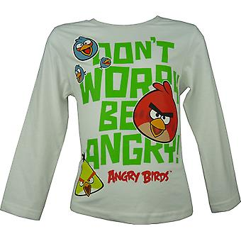 Angry Birds Boys Long Sleeve T-Shirt