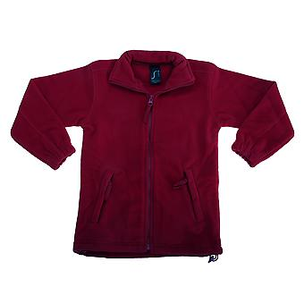 SOLS Childrens/Kids Noord Zip-Up Fleece jas