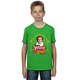 Elf Boys Buddy Smiling T-Shirt