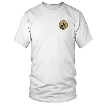 US Army 377th Medical Company - Number Ten Mickey Mouse- Vietnam War Embroidered Patch - Mens T Shirt