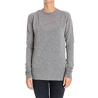 Pinko women's NASSOI47 grey Wool Sweater