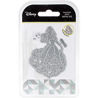 Disney Beauty And The Beast Die And Face Stamp Set-Waltzing Belle DUS0610