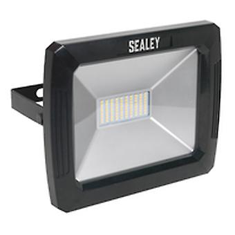 Sealey Led083 Floodlight With Wall Bracket 70W Smd Led 230V