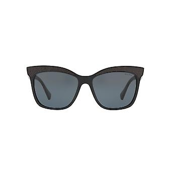 Ralph By Ralph Lauren Glitter Brow Square Sunglasses In Black