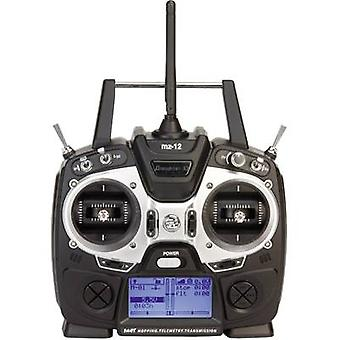 Graupner mz-12 HoTT Handheld RC 2,4 GHz No. of channels: 6