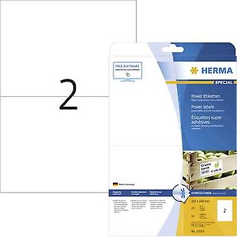 Herma 10910 Labels (A4) 210 x 148 mm Paper White