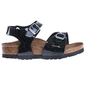 Birkenstock Rio Kids BF Magic Galaxy zwart kids 1003237 universele zomer schoenen