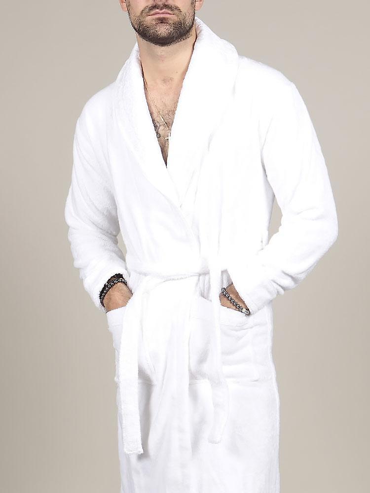 ® Luxury Bathrobe - White