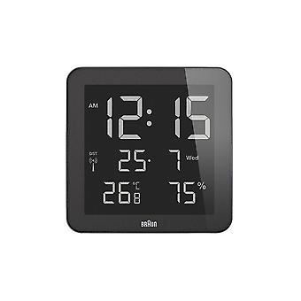 Brown digital wall clock BNC014BK-RC/66027