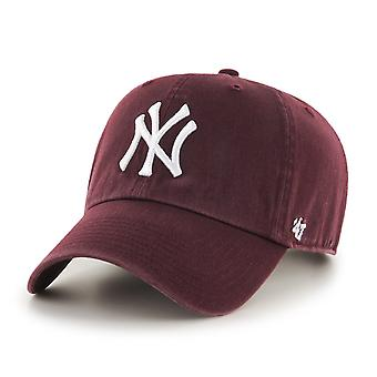 47 fire relaxed fit Cap - MLB New York Yankees maroon