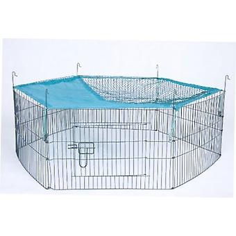 Trixie Recinto cubierto red, 6 elementos de 58x38 cm (Small pets , Cages and Parks)