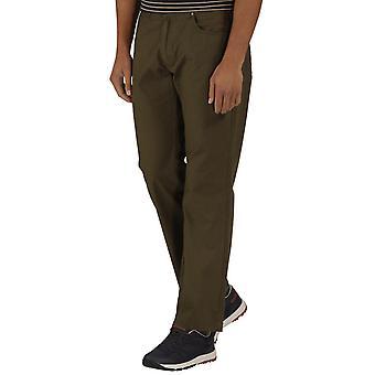Regatta Mens Landyn Breathable Cotton Chino Walking Trousers