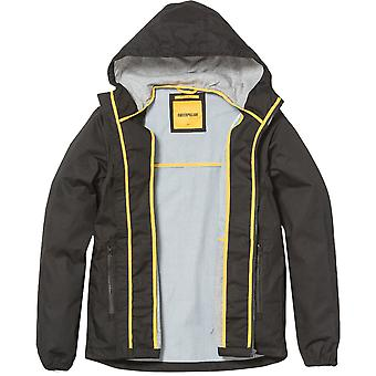 Caterpillar Mens Nampa Logo Hooded Casual Jacket Coat