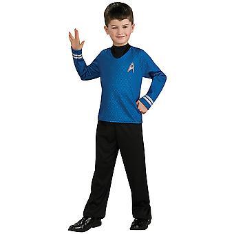 Spock Star Trek Film blaues Hemd Hose einheitliche Anzieh jungen Kostüm