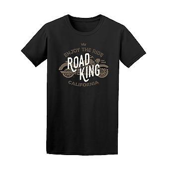 Vintage motorsykkel Road King Tee menn-bilde av Shutterstock