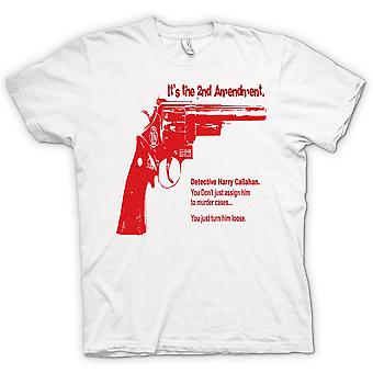 Womens T-shirt - Dirty Harry 44 Magnum - Movie