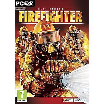 Echte helden brandweerman (PC CD)