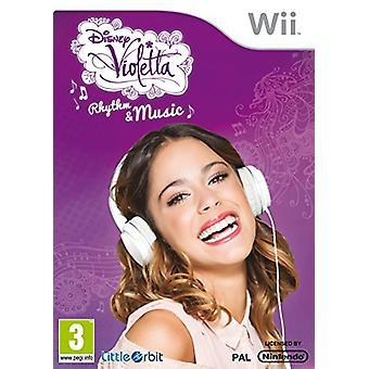 Violetta rythme et la musique (Nintendo Wii)