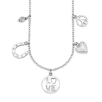 s.Oliver jewel children and teens necklace-silver SOK210/1 - 541602