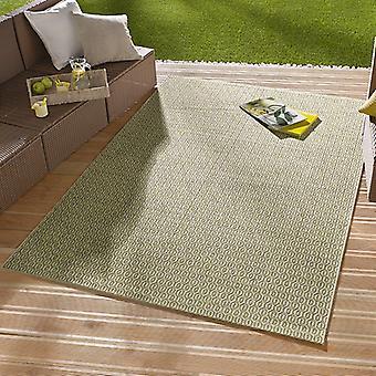 I - & Outdoorteppich mønt grøn | 102473