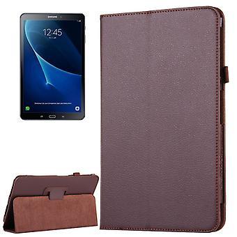 Schutzhülle Braun Tasche für Samsung Galaxy Tab A 10.1 T580 / T585 2016