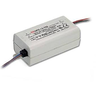 Mean Well APC-12-350 LED driver Constant current 12 W 0.35 A 9 - 36 Vdc not dimmable, Surge protection