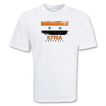 Syrii piłki nożnej T-shirt