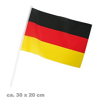Flag fan 20x30cm Germany football party
