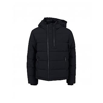 Kenzo Kids Edmond Logo Hooded Puffer Jacket