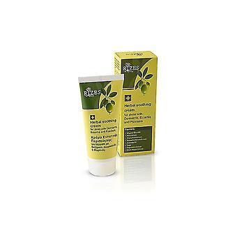 Травяной успокаивающий крем для кожи с дерматит, экзема и псориаз