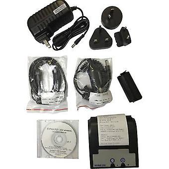 Envitec by Honeywell AlcoQuant 6020 / 6020 Plus Breathalyser printer Black