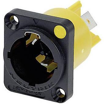 Mains connector powerCON Series (mains connectors) powerCON Plug, vertical mount Total number of pins: 2 + PE 16 A Black Neutrik NAC3MPX 1 pc(s)