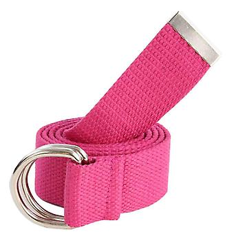 Redlinch Canvas D-Ring Belt - Rose Camine