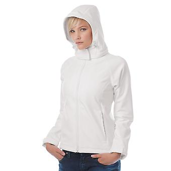 B&C Womens Hooded Softshell - JW937