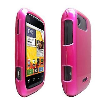 OEM Verizon Snap-On funda para el Motorola Citrus WX445 (rosa) (empaquetado a granel)