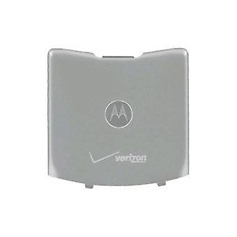 تصنيع المعدات الأصلية موتورولا رازر V3m باب البطارية القياسية/تغطية--الفضة (السائبة التغليف)