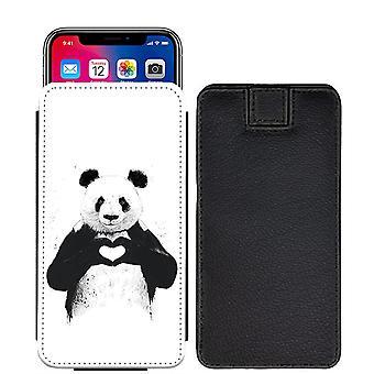 تصميم مخصص الباندا سحب المطبوعة الحقيبة علامة التبويب الهاتف حالة الغطاء سوني إريكسون XA [S]--Panda08_web