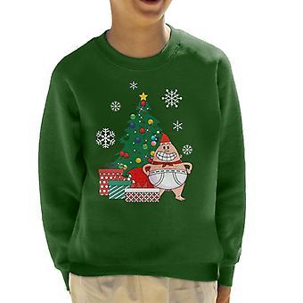 Captain underbukser rundt juletre ungen Sweatshirt