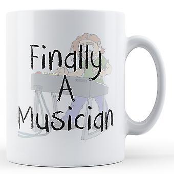 Finally A Musician - Printed Mug