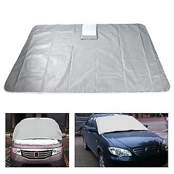 TRIXES Windscreen Cover Magnetic Car Protect from Sun, Ice, Frost & Snow All Weather Screen Cover 96 x 162cm / 38 x 64in