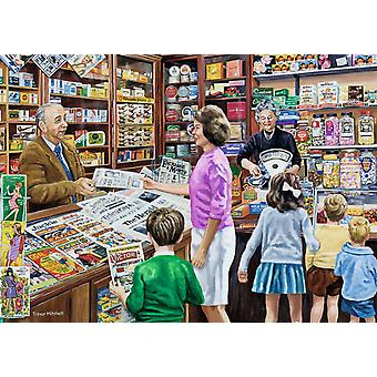 Falcon Deluxe Sweets & Newspapers Jigsaw Puzzle (1000 Pieces)