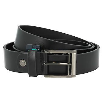 4411d47e73 TomFranks Men's Black Suede Leather Belt BL109