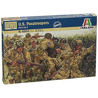 Italeri WW2 1:72 U.S. Fallschirmjäger